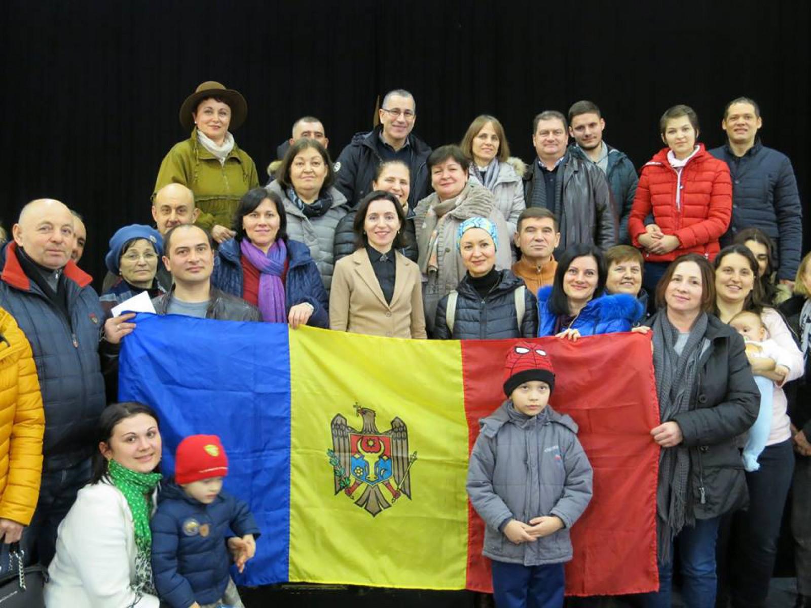 """Maia Sandu după întâlnirea cu cetățenii din diasporă: """"Mulți dintre ei vor să se întoarcă acasă, dar ..."""""""