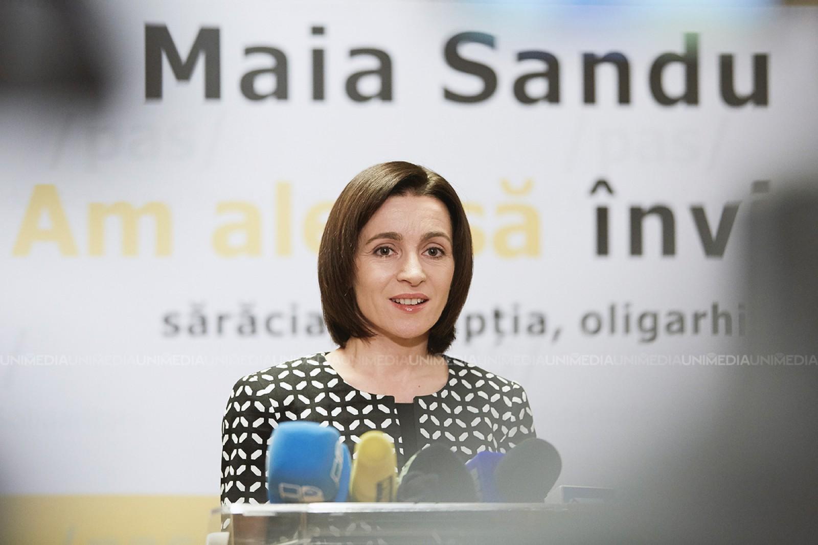 """Maia Sandu, despre statutul de observator al Republicii Moldova: """"Nu este decât un cal de bătaie electoral pentru PSRM în viitoarele alegeri parlamentare"""""""
