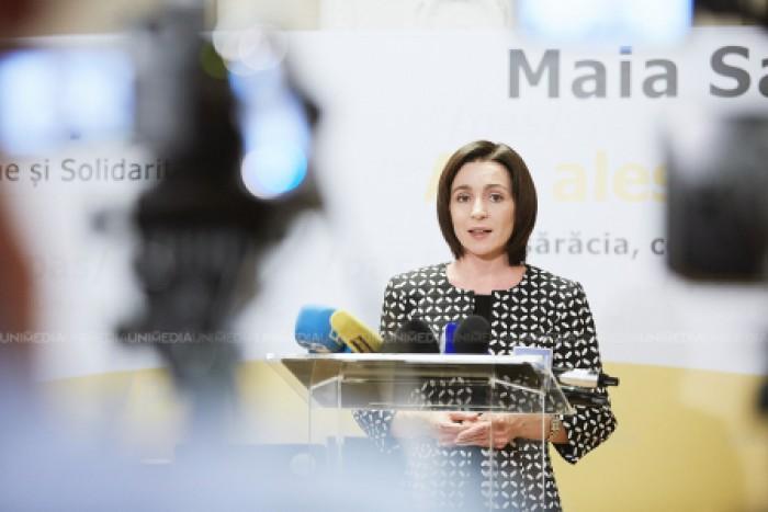 Maia Sandu: Referendumul anti-Chirtoacă nu va produce schimbări autentice, lupta trebuie să înceapă de la Parlament