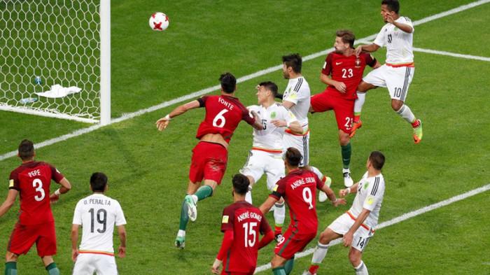 Meci nebun la Cupa Confederațiilor! Naționala Mexicului și Portugaliei au oferit un adevărat spectacol fotbalistic