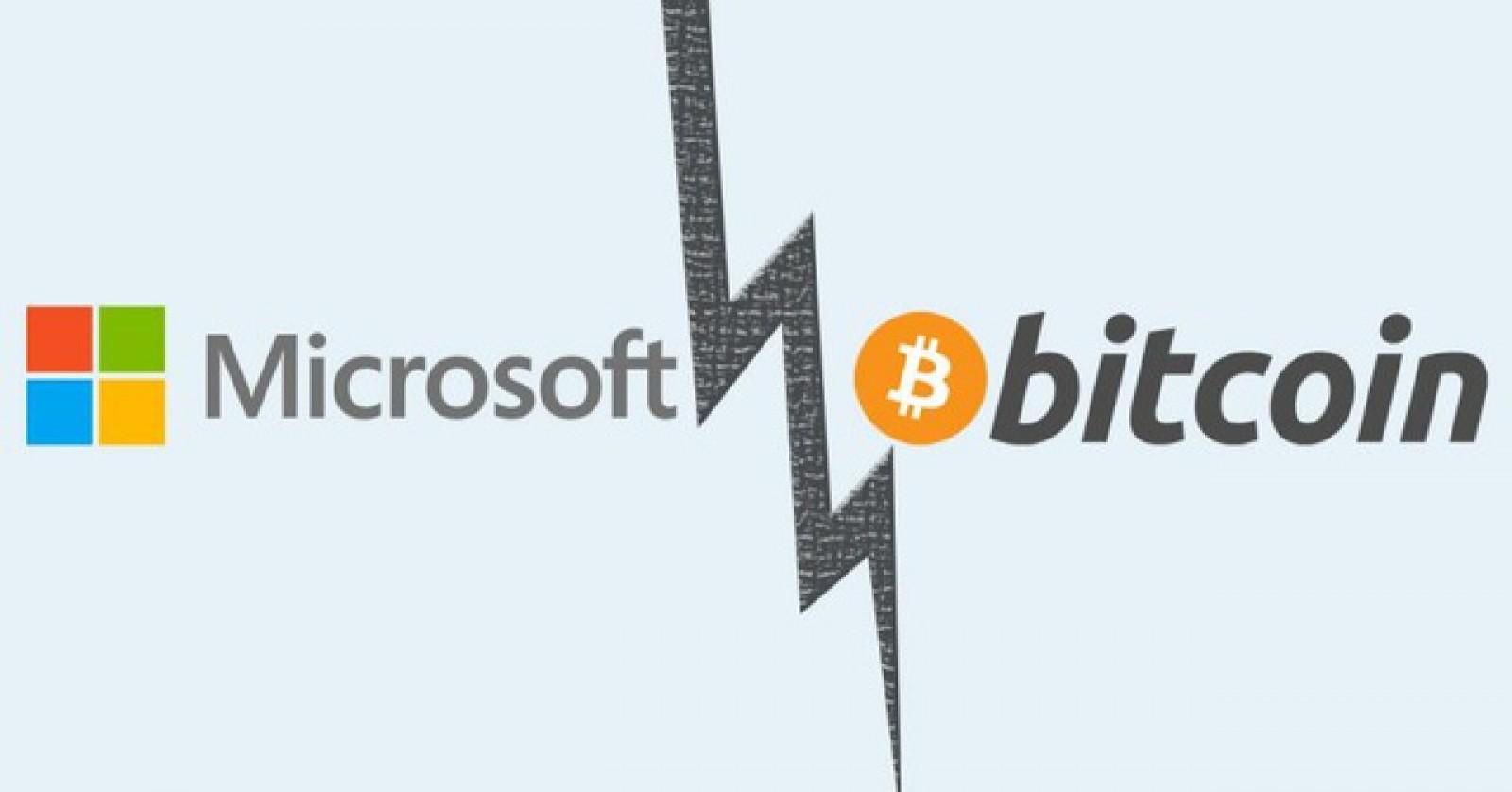 Microsoft opreşte plăţile prin intermediul Bitcoin