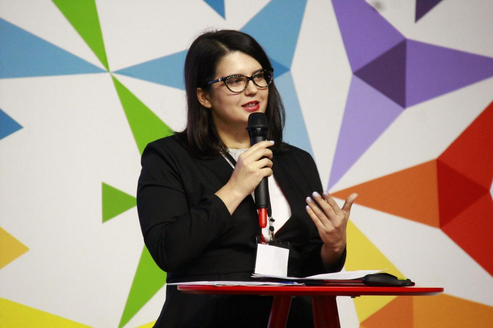Mihaela Spătaru, deputata din parlamentul Republicii Moldova, inclusă în lista Forbes- 30 Under 30 Europe