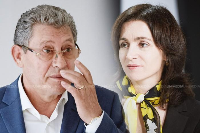"""Mihai Ghimpu se ia din nou de Maia Sandu: Ea este """"lucoarea"""" de la răsărit a lui Dosoftei"""