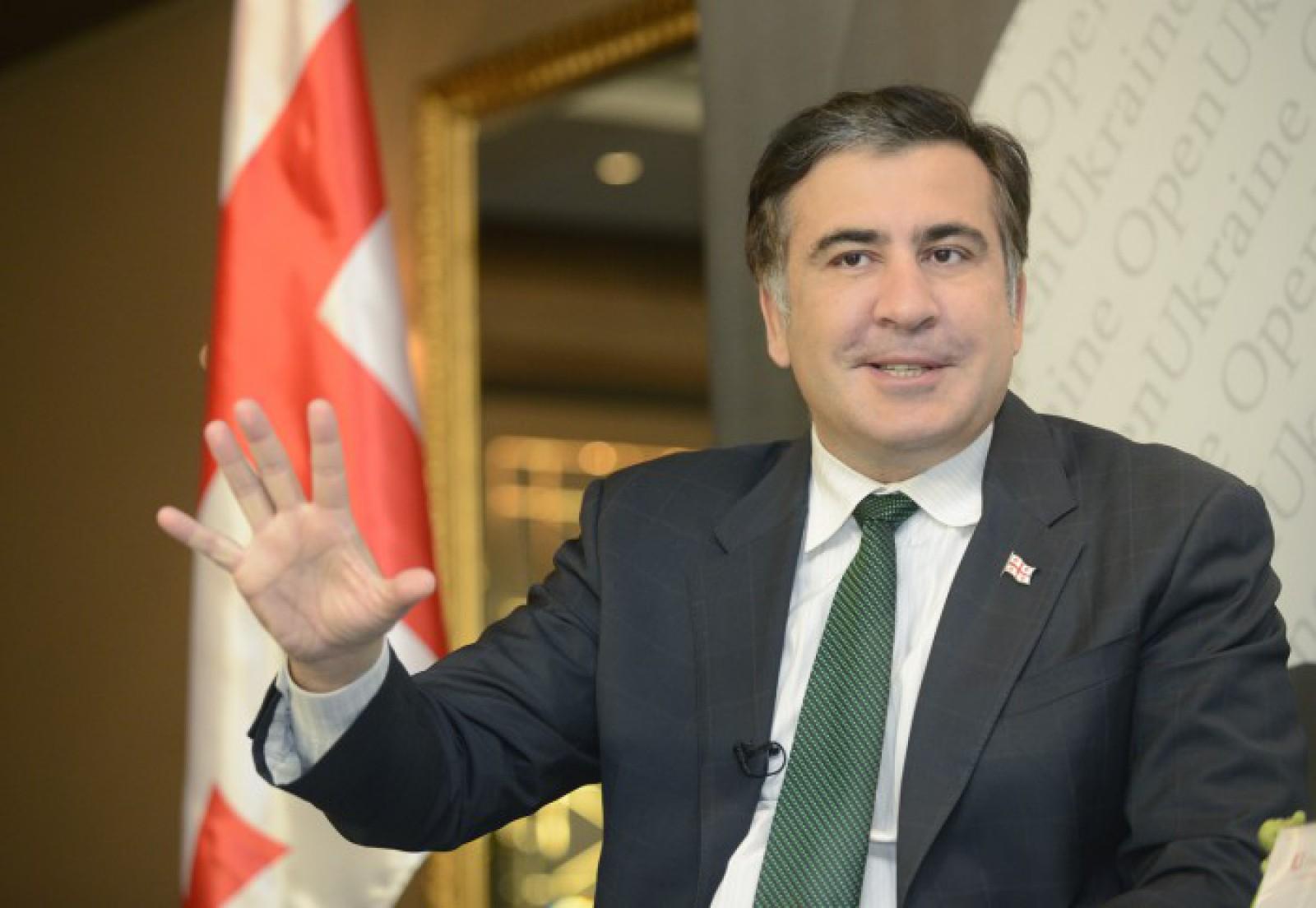 """Mihail Saakașvili: """"Dacă s-ar dori extrădarea mea, ar fi fost cerută chiar ieri"""""""
