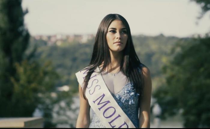 """Miss Moldova 2017, în videoul de prezentare pentru concursul Miss World: """"Vreau să devin un economist înalt calificat"""""""