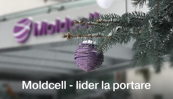Moldcell – lider la portare
