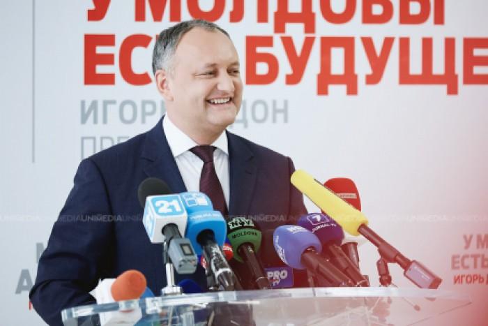 Moldova va oferi cetățenie celor care vor investi în economia țării. Igor Dodon: O sută sau două sute de mii de dolari, vom vedea