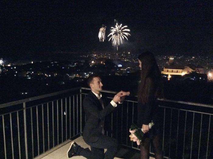 Moment special pentru Gheorghe Anton. Mijlocașul celor de la Zimbru Chișinău s-a logodit cu iubita sa