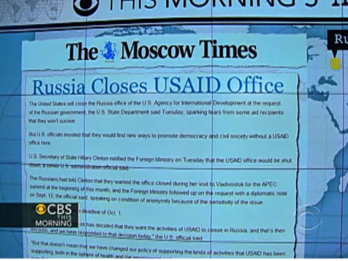 Moscova a decis să închidă toate operatiunile USAID în Rusia