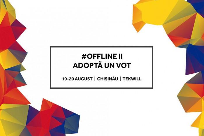 """Noi detalii despre cel de-al doilea offline """"Adoptă un vot"""". A fost dat startul înscrierilor participanților"""