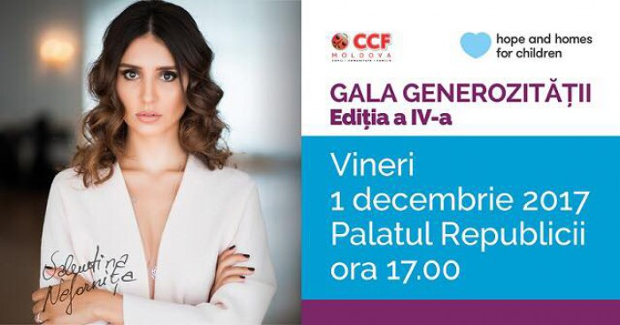 Noi surprize la principalul eveniment caritabil al anului - GALA GENEROZITĂȚII 2017