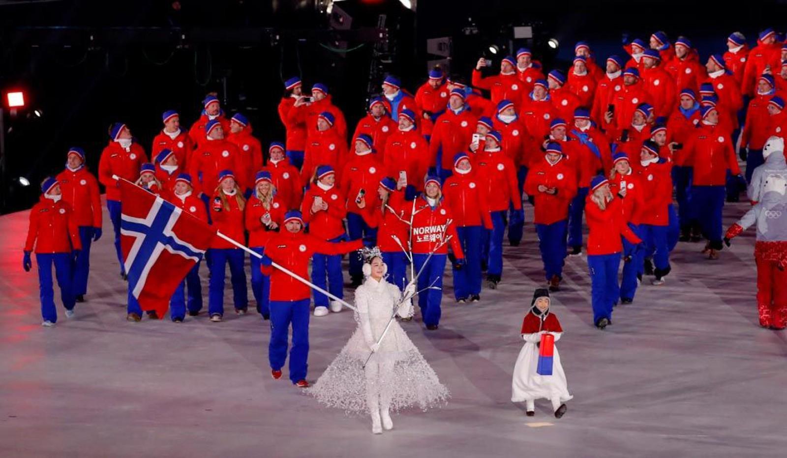Norvegia, liderul Olimpiadei după numărul de medalii obținute: 14 dintre acestea sunt de aur