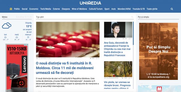 (foto) Nou design pentru UNIMEDIA. 7 lucruri despre ce s-a schimbat și ce avem nou