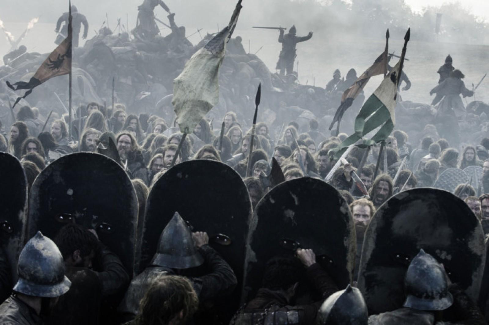 """O bătălie din ultimul sezon al serialului """"Game of Thrones"""" a fost filmată timp de 55 de nopți consecutive"""