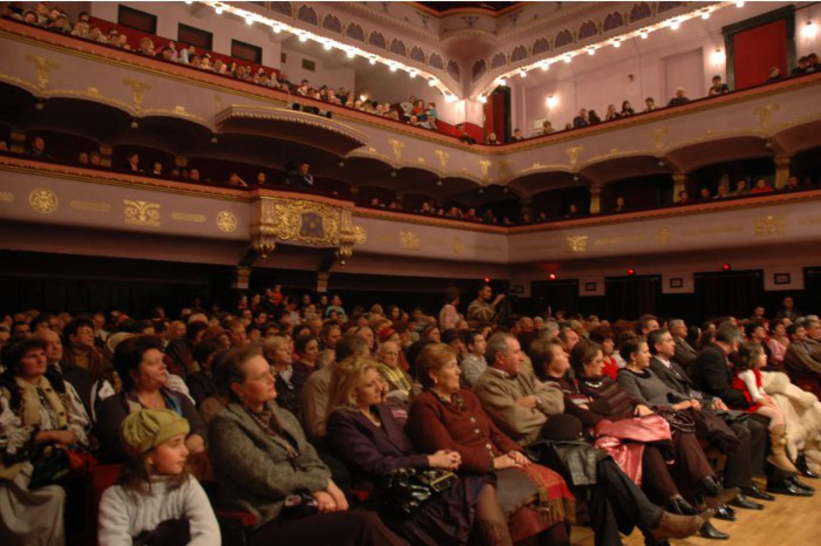 """O mulțime de spectacole pentru un weekend ploios. Săptămâna teatrală se va încheia cu spectacolul """"Chiriţa în provincie"""" la Teatrul Naţional """"Eugene Ionesco"""""""