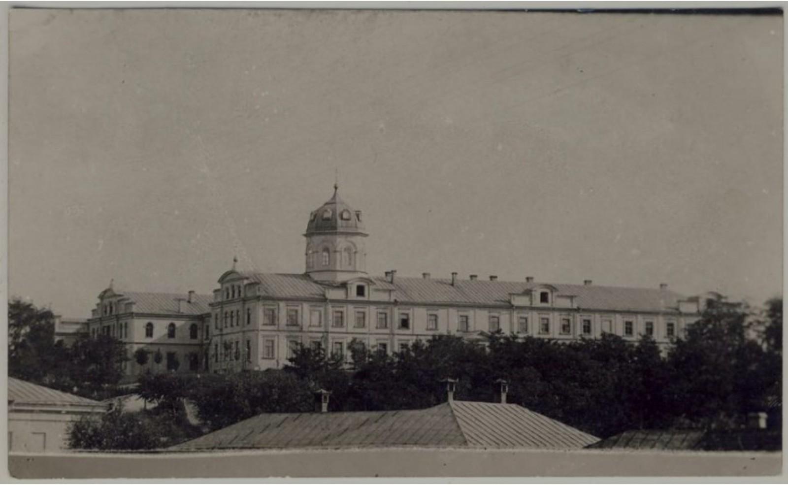 Old Chișinău în imagini: Școala Eparhială de Fete