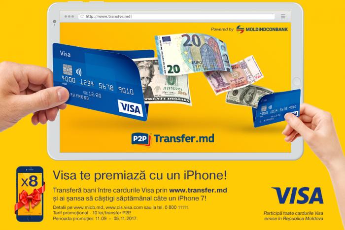 Visa te premiază cu un iPhone 7