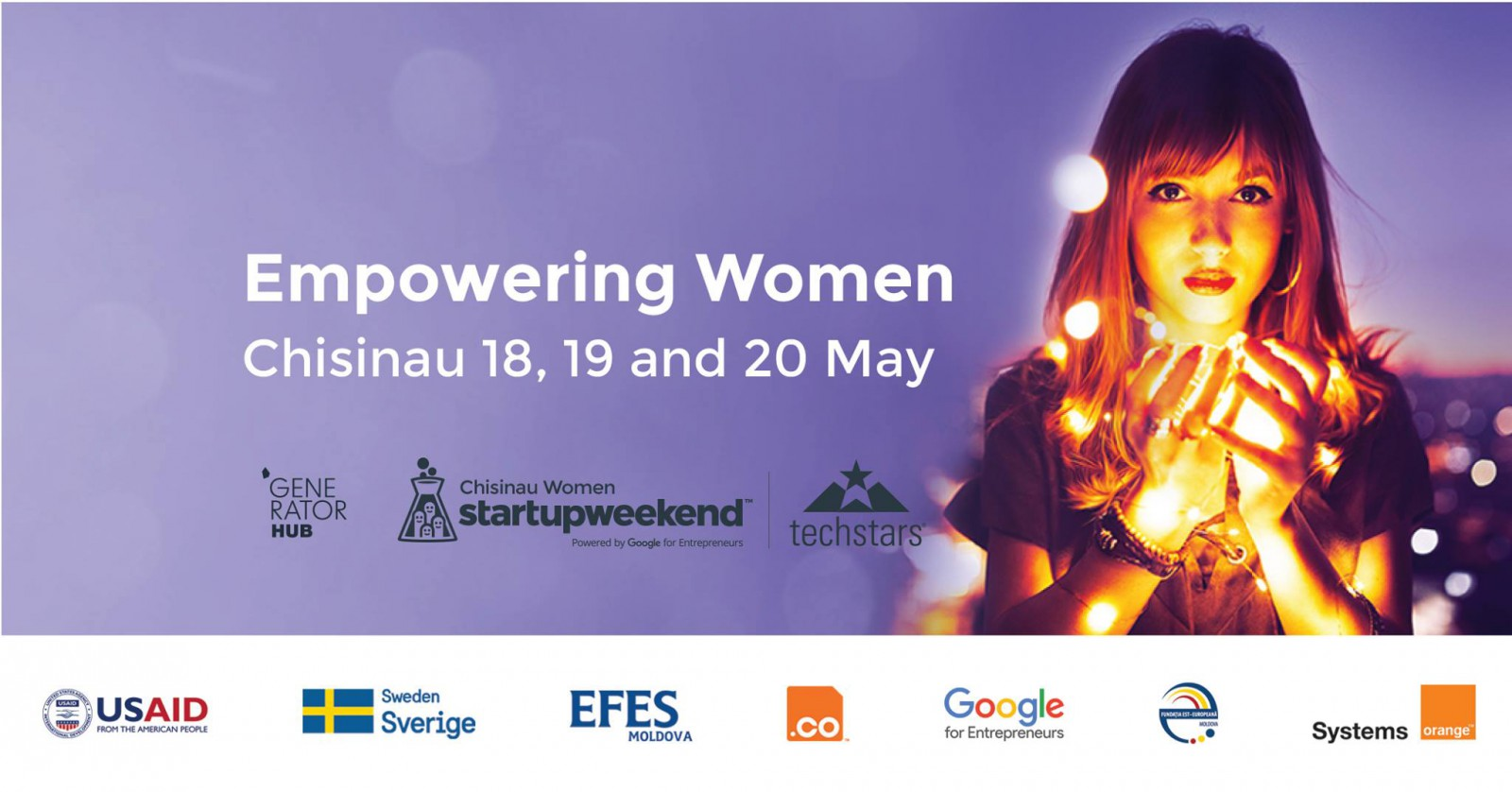 Orange susține femeile antreprenoare și le invită la Startup Week-end Women