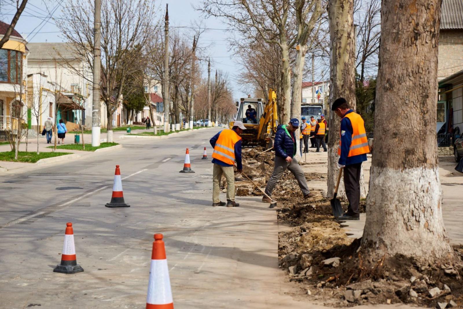 Orhei: A început marea reconstrucție a drumurilor