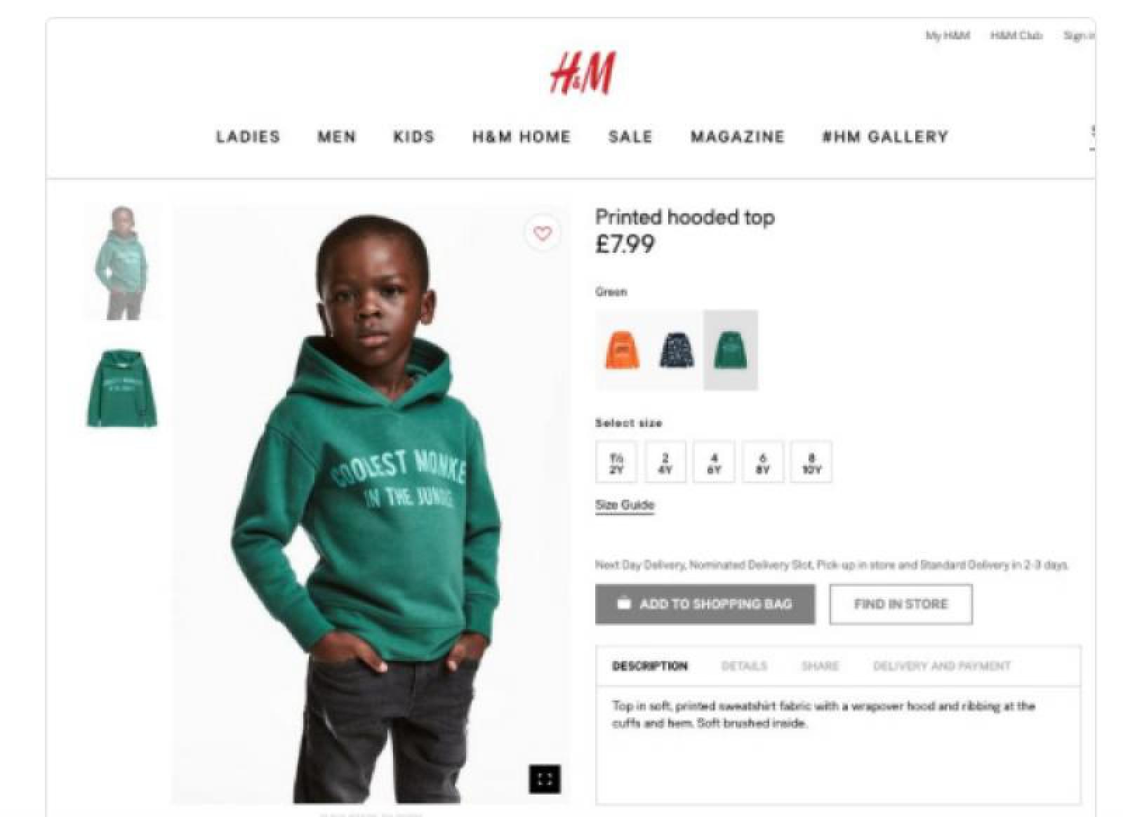 P. DIDDY i-a oferit un contract fabulos puștiului din reclama scandaloasă a companiei H&M