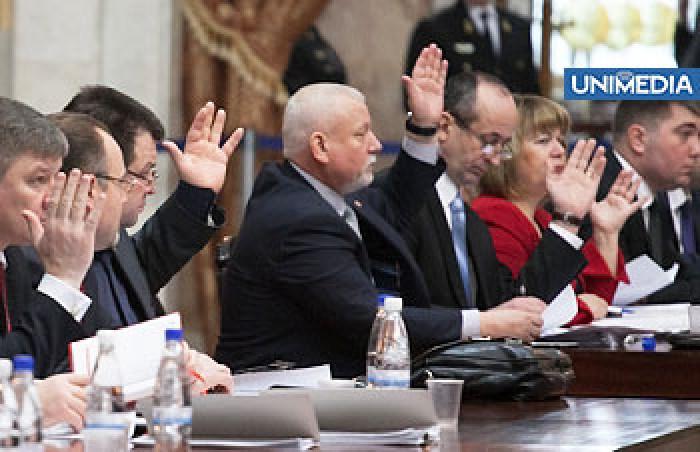 Parlamentul a ratificat Tratatul de frontieră între Republica Moldova - România
