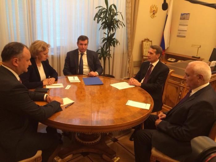 Partidul Socialiştilor din Moldova, partener de încredere pentru parlamentarii ruși