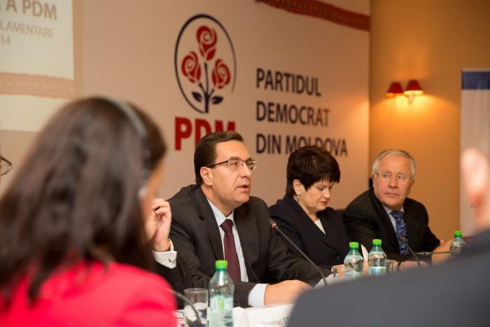 PDM şi-a prezentat platforma electorală