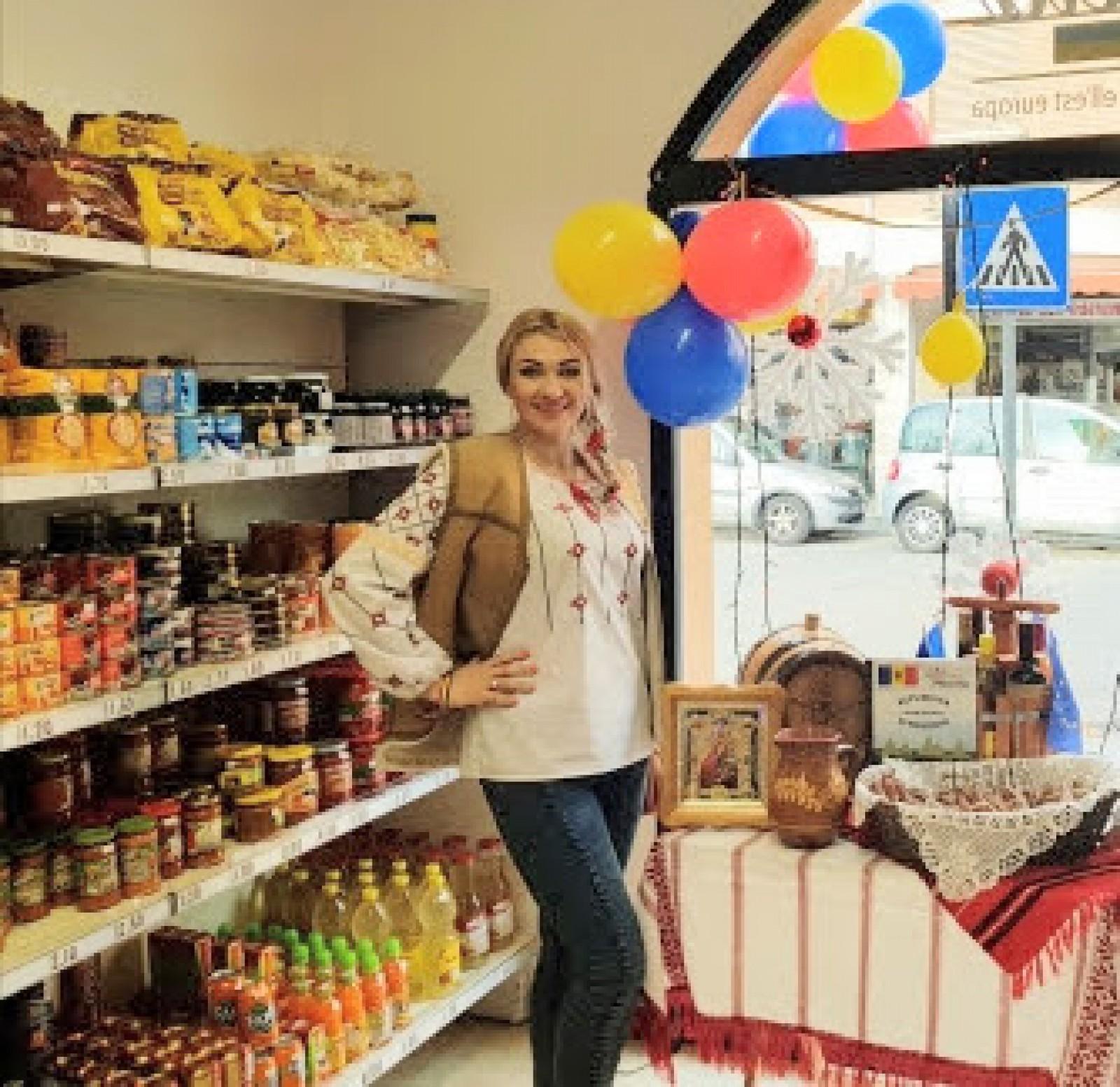 Povestea tinerei care și-a deschis un magazin de produse moldovenești în Italia
