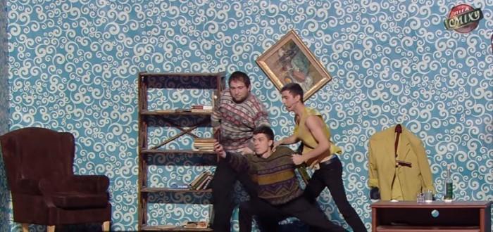 """Povestea tinerilor moldoveni din Stoianovka care s-au făcut remarcați în cadrul show-ului umoristic din Ucraina """" Лига Смеха"""""""
