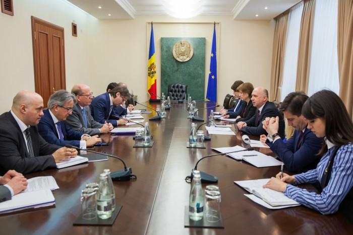 Premierul Pavel Filip a avut o întrevedere cu Prim-vicepreşedintele Băncii Europene pentru Reconstrucţie şi Dezvoltare