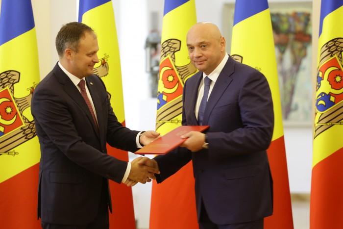 """Președintele Federației de Taekwondo WTF a Republicii Moldova, decorat cu """"Diploma Parlamentului Republicii Moldova"""""""