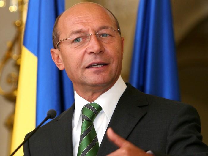 Preşedintele României, Traian Băsescu, vine la Chișinău