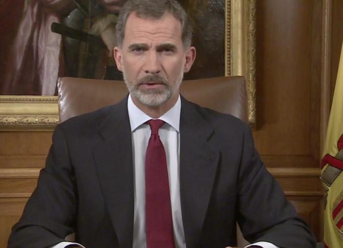 """Primul mesaj al regelui Spaniei după referendumul din Catalonia: Autoritățile din regiune """"s-au situat în afara legii şi a democraţiei"""""""