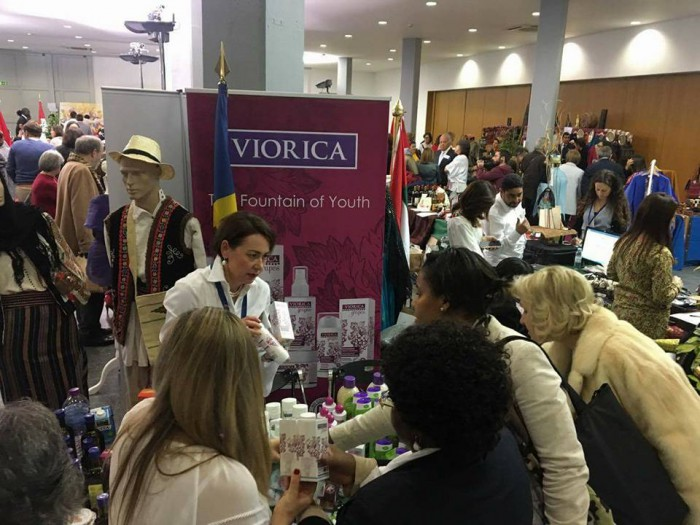 """Produsele """"Viorica Cosmetic"""" se bucură de popularitate în Portugalia"""