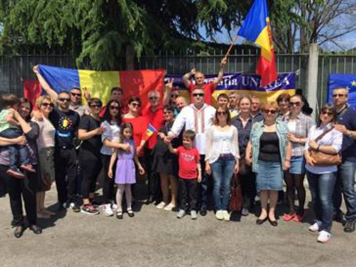 Protest în Italia și Germania. La Parma și Berlin au avut loc manifest de solidaritate cu protestatarii adunați la Chișinău