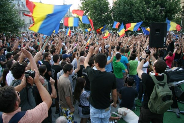 Proteste împotriva desfășurării concertului de 9 mai