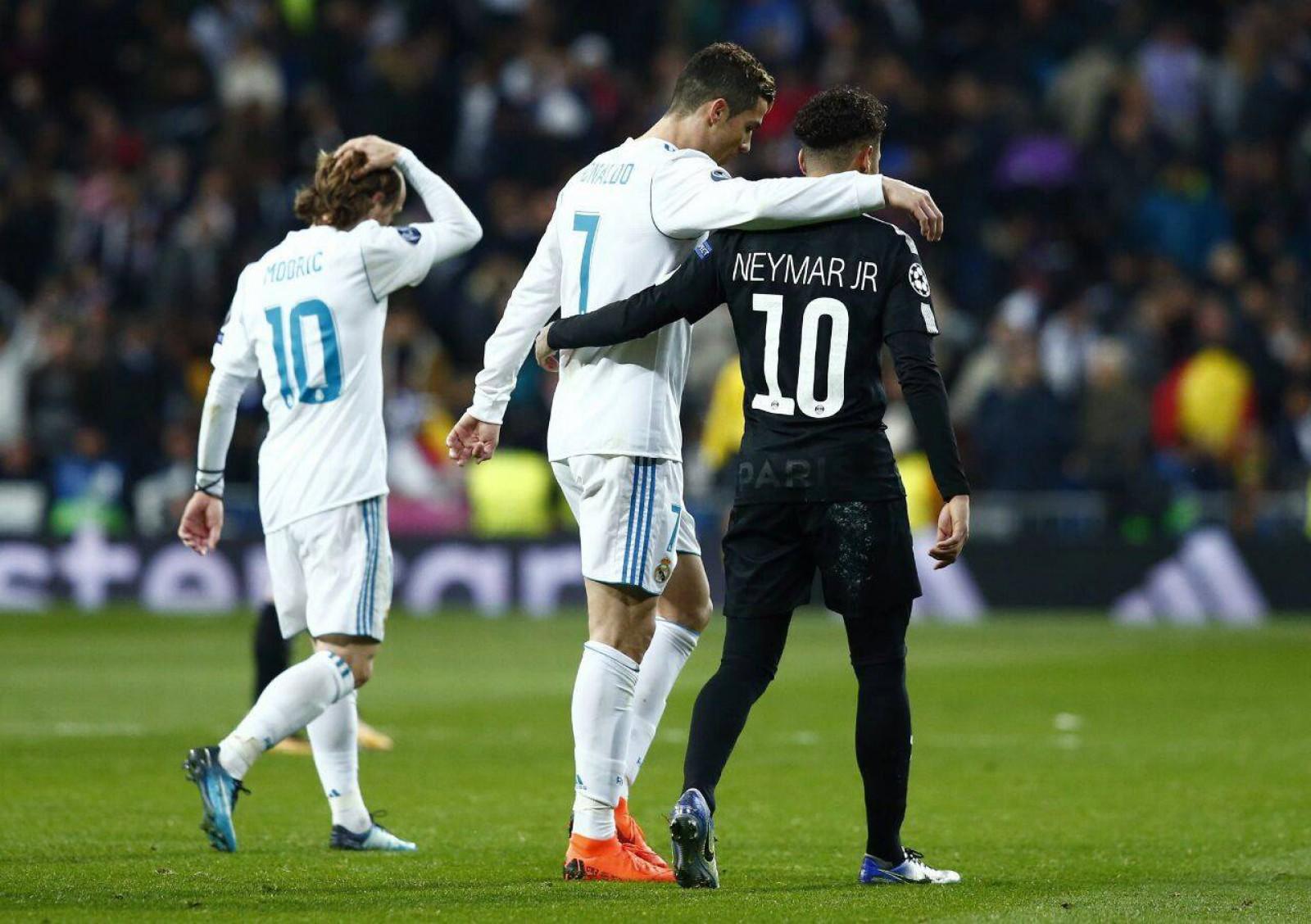 Real Madrid 3-1 PSG: Cristiano Ronaldo a fost jucătorul meciului pentru madrileni, reușind o dublă în poarta parizienilor