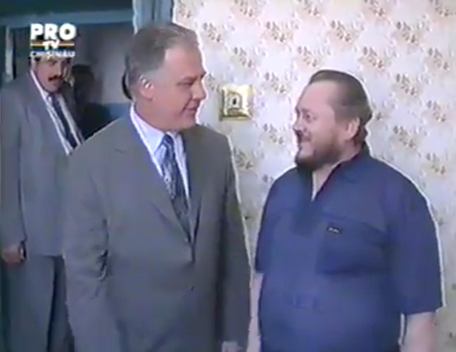 (remember/video) Ilie Ilașcu vs. Dumitru Diacov. Dialogul aproape neverosimil din închisoarea de la Tiraspol dintre fostul deținut politic și fostul președinte al Parlamentului
