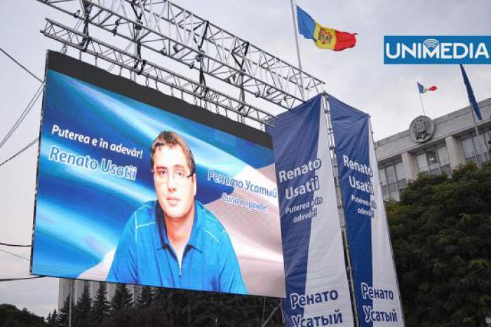 Renato Usatîi, la CEDO