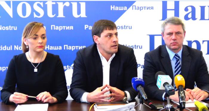 """(video) Reprezentanții """"Partidului Nostru"""": Oamenii lui Plahotniuc vor să obțină control asupra municipiului Bălți"""