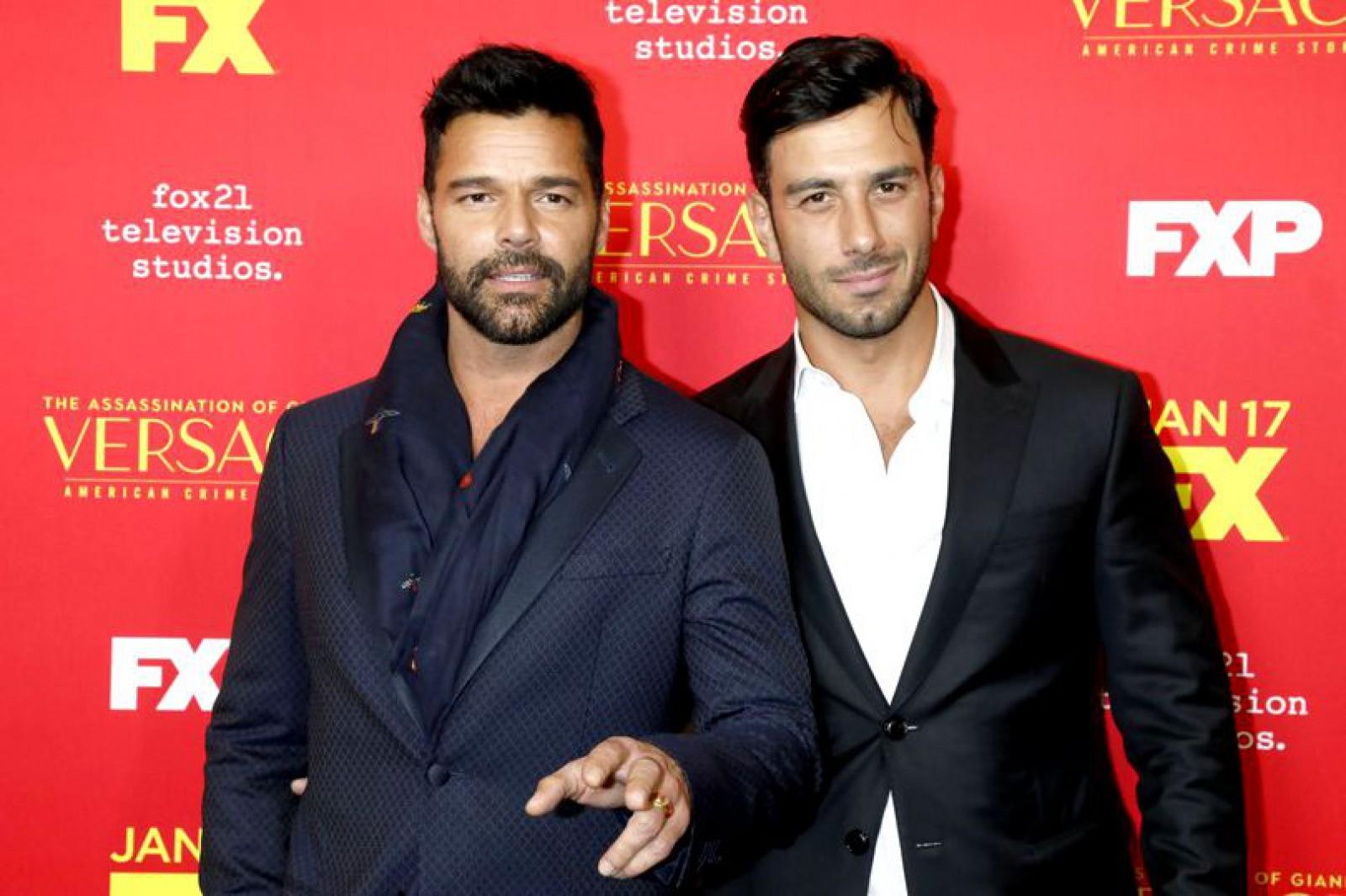 Ricky Martin s-a însurat cu iubitul lui, pictorul sirian Jwan Yosef