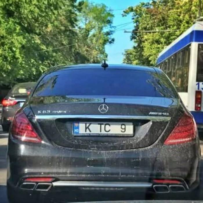 Constantin Țuțu și-a luat din nou mașină? Un superb Mercedes cu inițialele deputatului democrat a fost văzut pe străzile capitalei