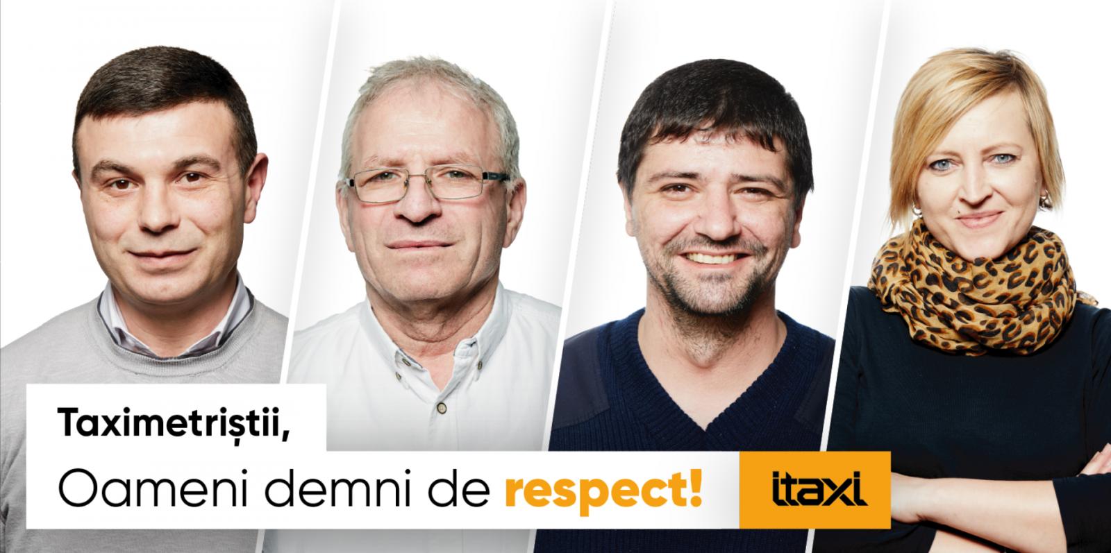 """(video/foto) Să readucem bunul simț în trafic: iTaxi lansează campania """"Oameni demni de respect"""""""