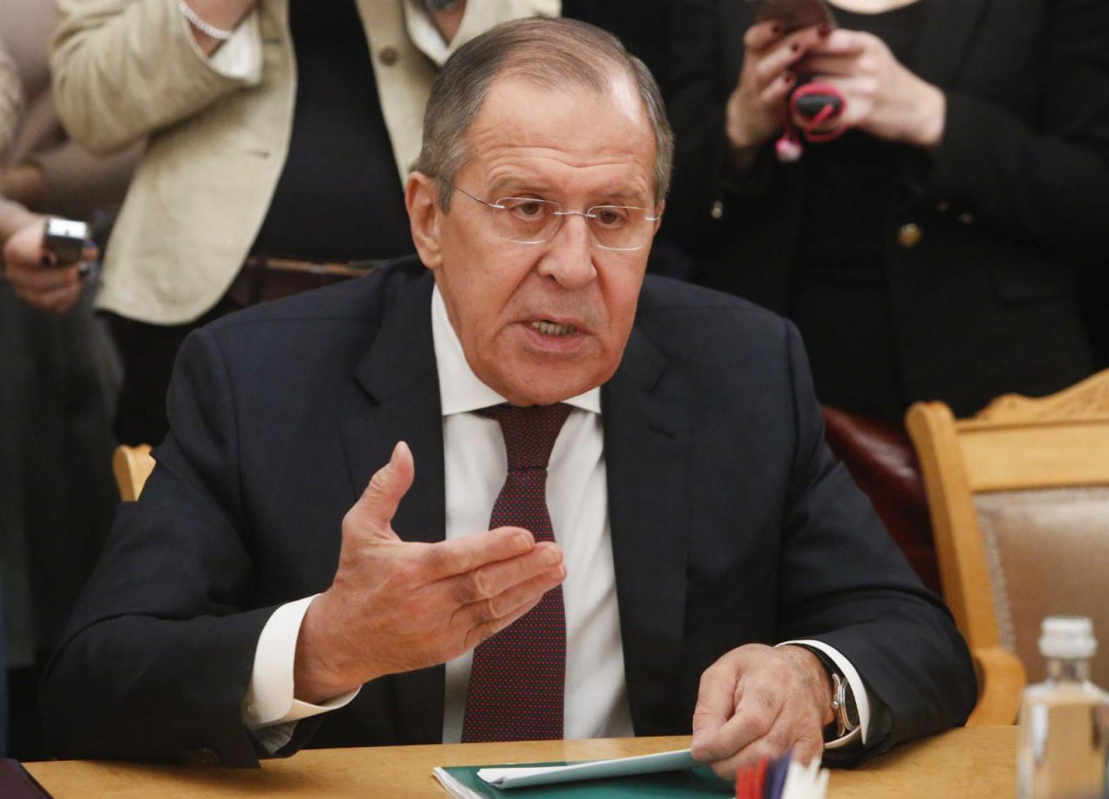"""Serghei Lavrov: Atacul chimic din Siria, o înscenare pusă la cale de """"serviciile speciale ale unui stat"""""""
