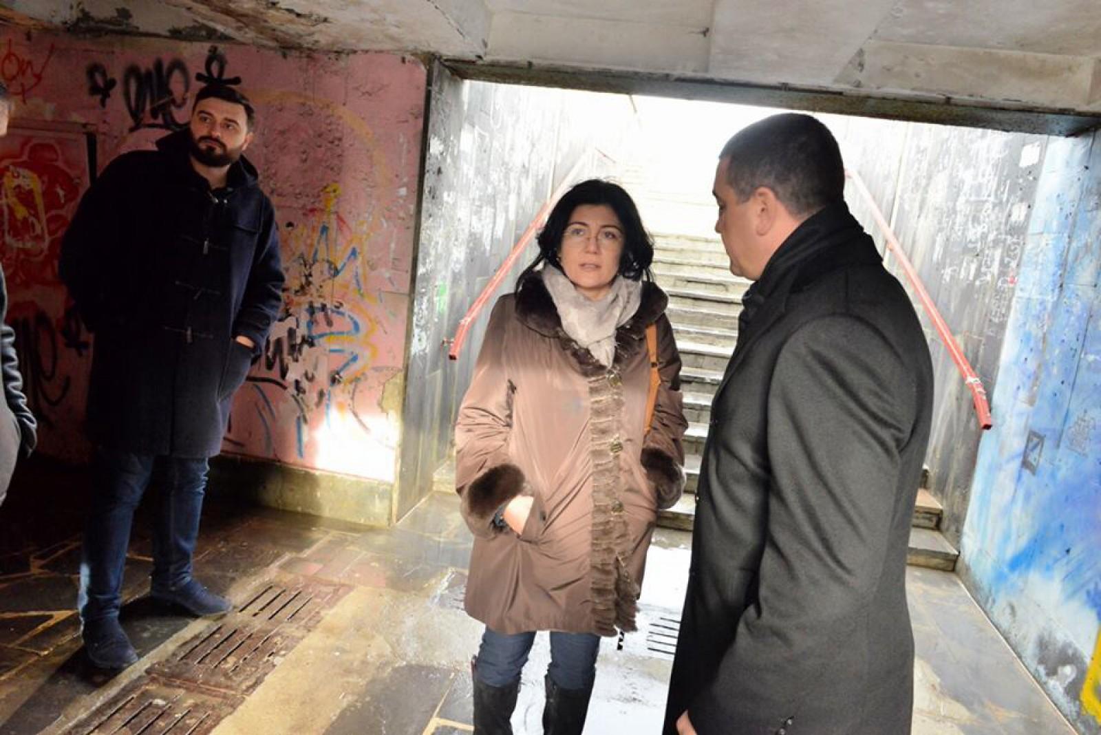 Silvia Radu a decis: Trecerea subterană de lângă Spitalul Republican Nr1. va fi reparată; Când vor începe lucrările