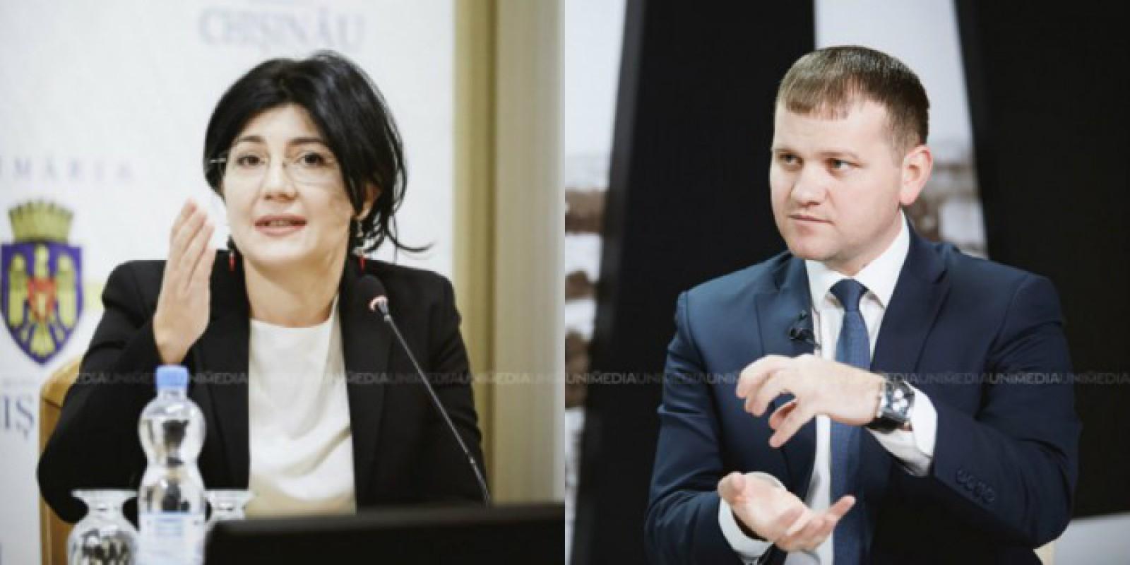 """(video) Silvia Radu: """"Credibilitatea lui Valeriu Munteanu este egală cu suma banilor furați din Primărie"""""""