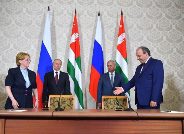 """Statele Unite consideră că vizita lui Vladimir Putin în Abhazia a fost """"nepotrivită"""""""