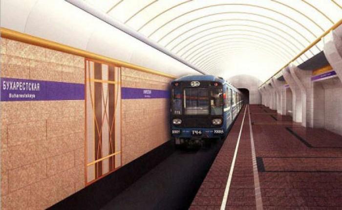 """Stația de metrou """"București"""" din Sankt-Petersburg nemulțumește MAE de la Moscova"""