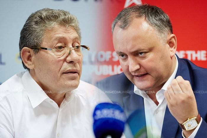 Stop cadru. Ce vor mânca moldovenii în 2016. Opinia lui Ghimpu și Dodon