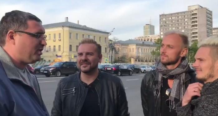 (Stop Cadru) Usatîi s-a întâlnit cu SunStroke Project, la Moscova: Vă rog să-i salutați pe locuitorii municipiului Bălți din partea mea